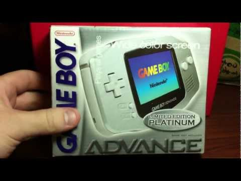 [Unboxing #37] Nintendo Game Boy Advance (GBA) - Limited Edition Platinum