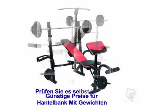 Hantelbank Mit Gewichten| Günstige Preise