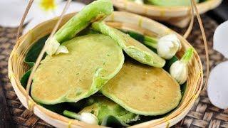 [thai Dessert] Thai Style Coconut Cake (khanom Bah - Bin)