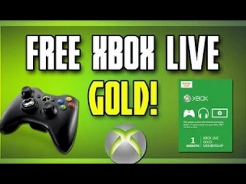 free xbox live gold codes that work