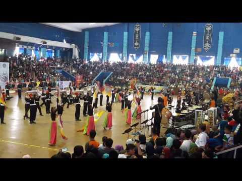 MARCHING BAND BONTANG PUPUK KALTIM (MBBPKT) @BOMBC 2016. MANTAP !!!