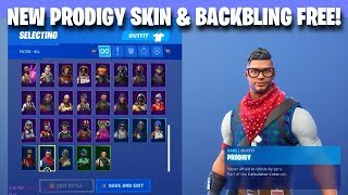 *NEW* FREE FORTNITE SKIN & BACKBLING! Fortnite Battle Royale