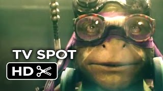 Teenage Mutant Ninja Turtles TV SPOT - Donatello Tuesday (2014) - Ninja Turtle Movie HD