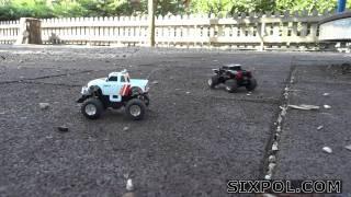 RC mini car 1:67 off-road
