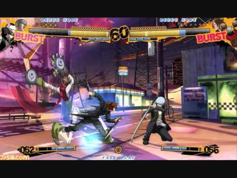 Persona 4The Ultimate In Mayonaka Arena Arcade Fighting Game