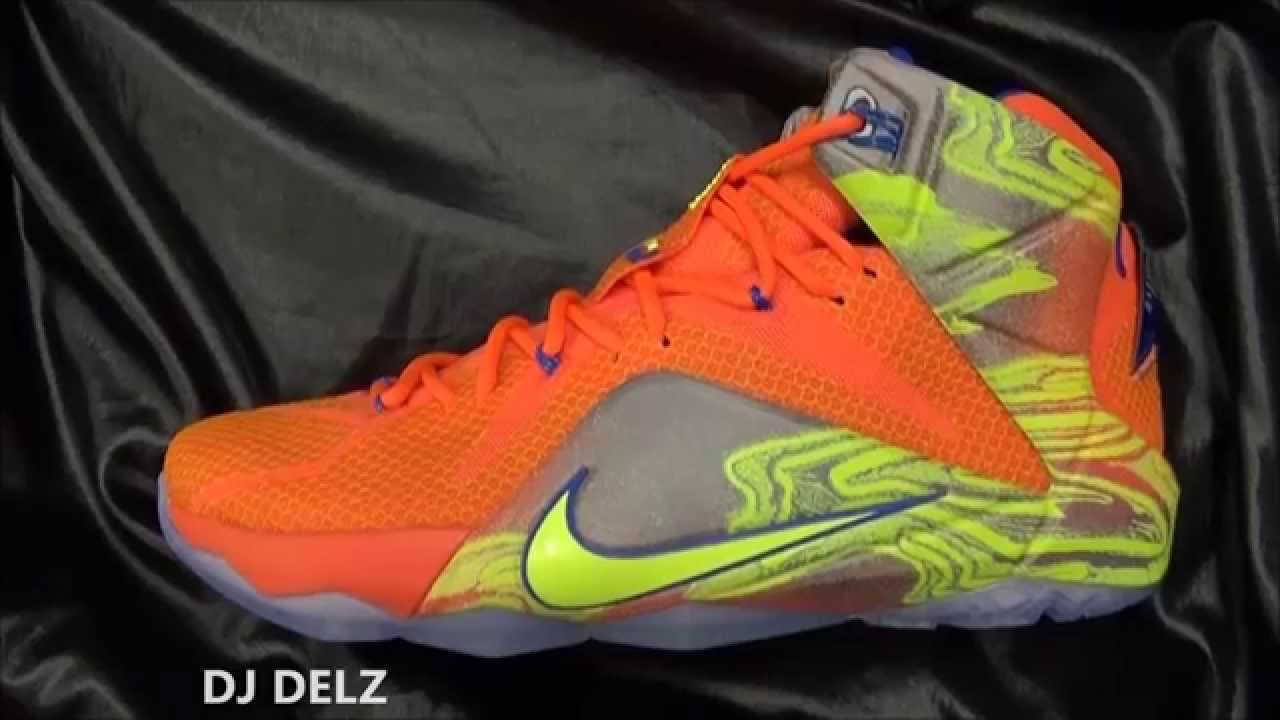 b53302f8cb8 Nike LeBron 12 Six Meridian Sneaker Review + Sizing With  DJDelz  HOTORNOT  - YouTube