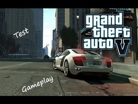 GTA 5 Test Gameplay deutsch/german Xbox 360 HD - TEG Schubi - YouTube