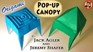 Origami Pop-up Canopy (no music)