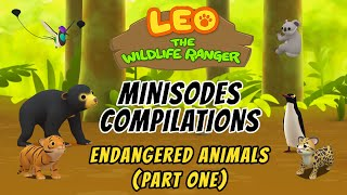 Leo the Wildlife Ranger Season 1 Minisodes Compilations - Endangered Animals (Part One)