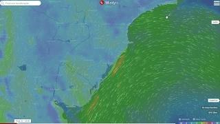 Por que está chovendo tanto entre o litoral de SC e o sul de SP?