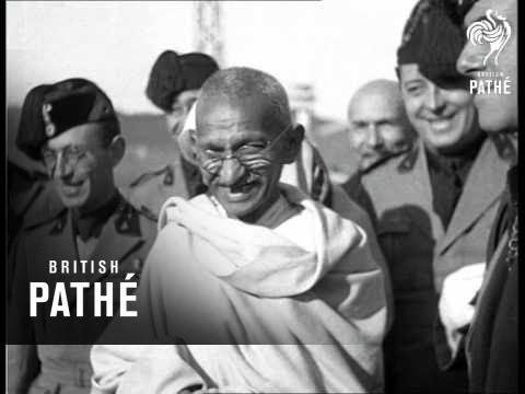 Ghandi In Rome   AKA Gandhi In Rome (1930-1939)