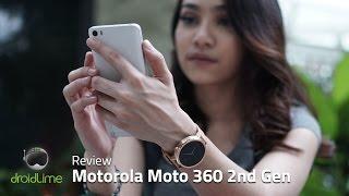 Moto 360 (2nd Gen) Review(Ingat GADGET, ingat DROIDLIME...! Spesifikasi Motorola Moto 360 2nd Gen: Harga: Rp4.999.000 - Rp5.799.000 CPU: 4-core Qualcomm Snapdragon 400 1,2 ..., 2016-03-28T07:22:19.000Z)