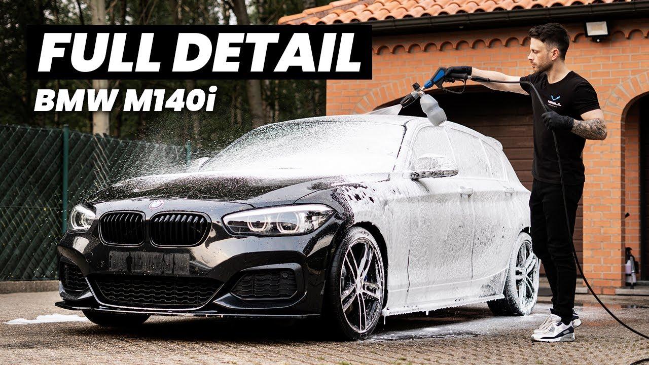 BMW M140i Wash, Polish & Ceramic Coating - Exterior Auto Detailing