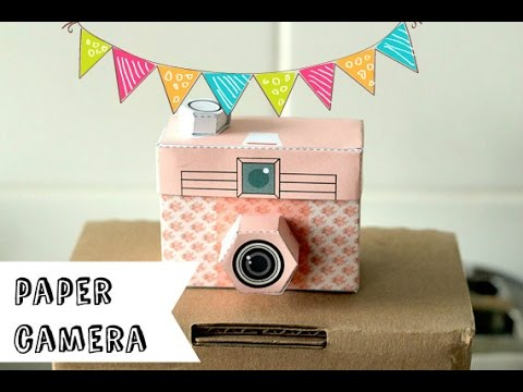 How To Make A Paper Camera DIY Very Easy