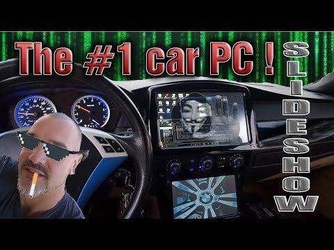 Car PC Windows 10 In A BMW