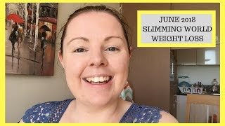 WEIGHT LOSS JUNE 2018 || SLIMMING WORLD