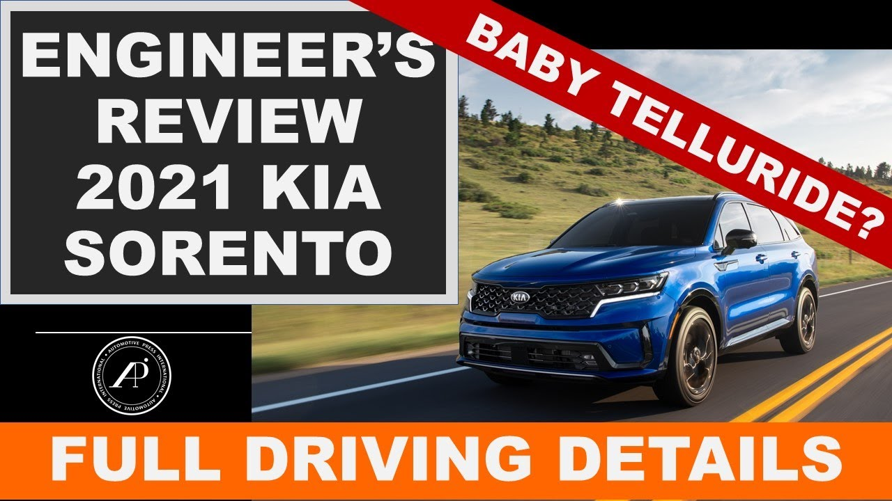 Engineer's Full Review of the 2021 Kia Sorento - is it better than RAV4?
