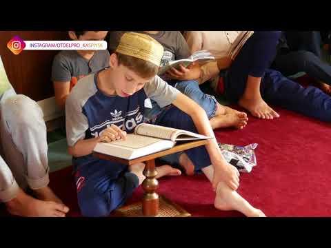 Летние курсы в мечети им. Мухаммад-Рахима города Каспийска.