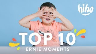 Ernie 39 s Top 10 Moments Top 10 HiHo Kids