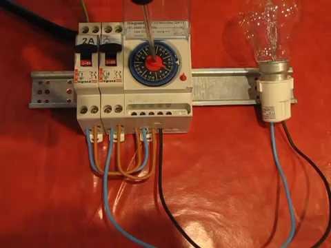 Branchement Dune Horloge Modulaire Analogique