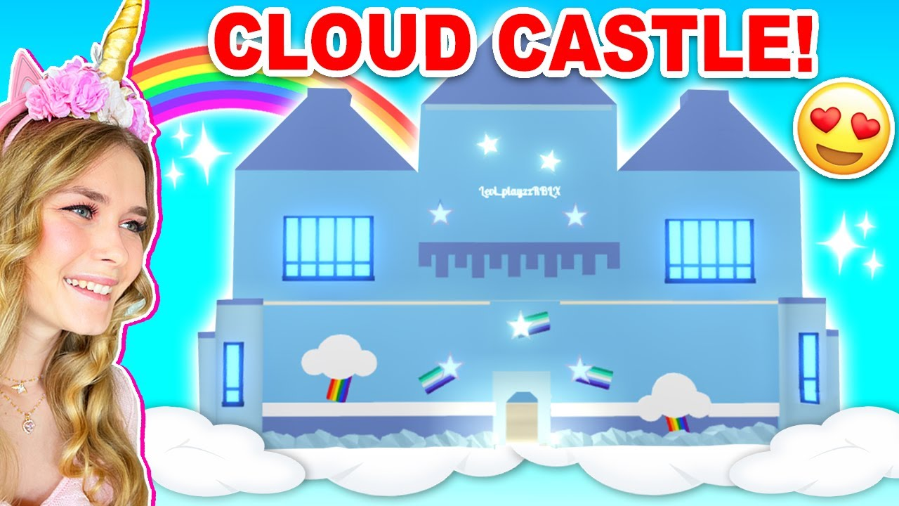 *NEW* Floating CLOUD CASTLE In Adopt Me! (Roblox)