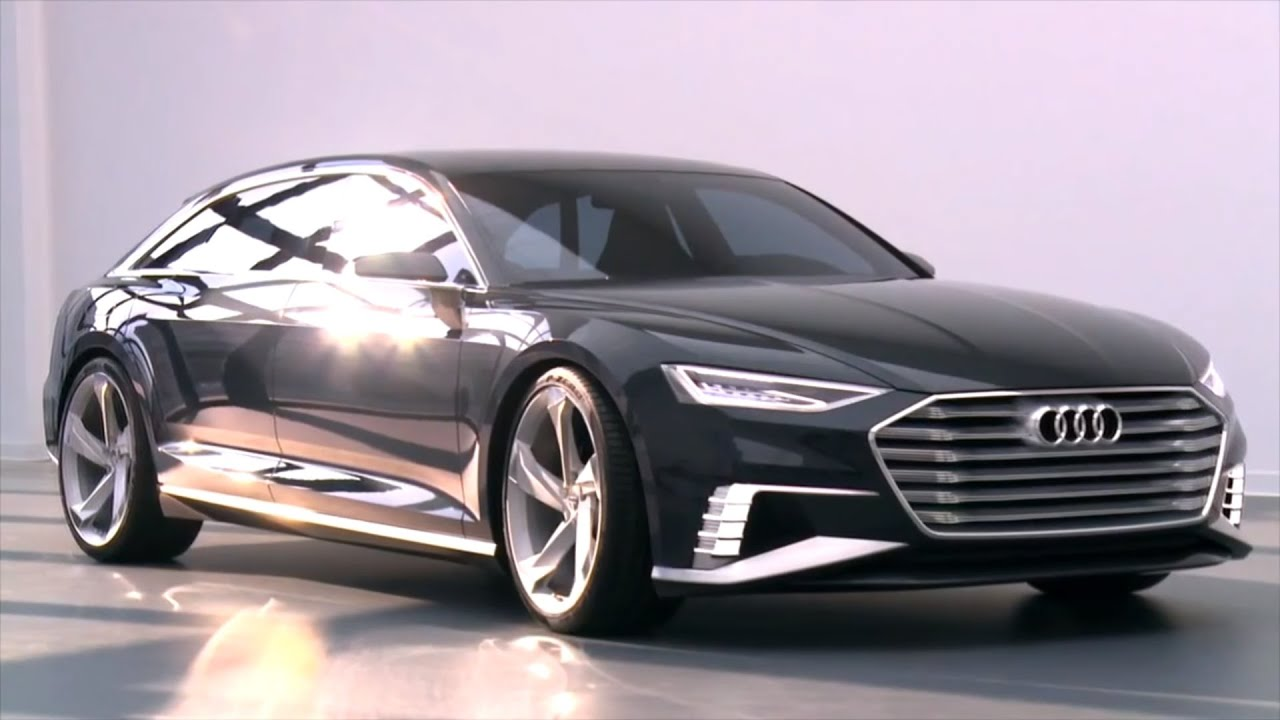 Audi A9 Prologue Avant Concept Wireless Charging Car HD Video 2016