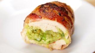 Bacon Guacamole Chicken Bombs