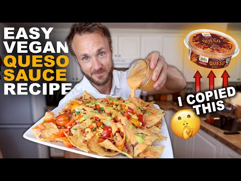 AMAZING VEGAN QUESO SAUCE RECIPE | EASY & HEALTHY!