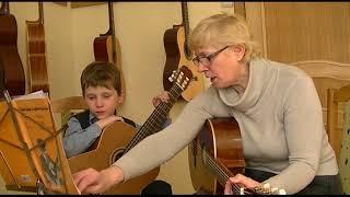 Открытый урок. Артикуляция в классе гитары на начальном этапе обучения.