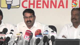 Seeman slams at Vijayakanth for joining MNK alliance breaking his policy