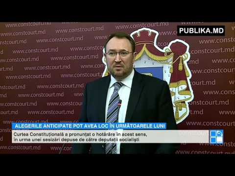 Curtea Constituţională: Parlamentul poate fi dizolvat. ALEGERI ANTICIPATE pot avea loc