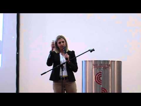 06  Nina Angelovska at the Macedonia Economic Summit Leadership Talks
