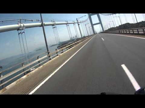 2015年04月22日14時08分 岡山ツーリング 下津井瀬戸大橋を通過