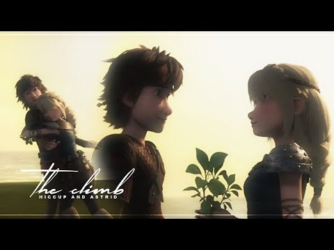 Hiccup and Astrid (s5) ~ The Climb