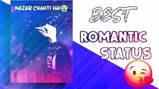 ❤️Romantic✨ whatsapp status🔥  #Hammad Nadeem🎶 best ❤️nazar chahti hai Deedar Karna song status🔥
