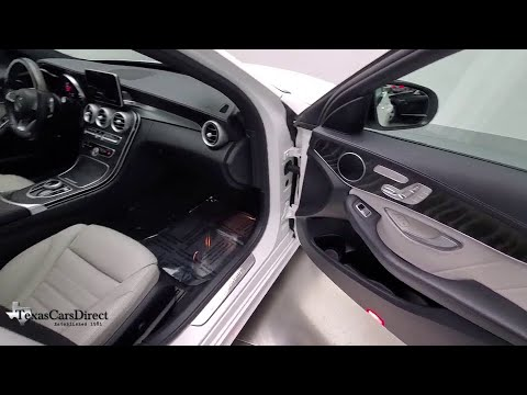 2017 Mercedes-Benz C-Class Dallas, Plano, Frisco, Fort Worth, Austin, TX 183527R from YouTube · Duration:  1 minutes 16 seconds