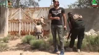 تشيع الشهيد البطل صدام (المختار) يحيى الشامي جديد 2016 باسم الكربلائي  جنون