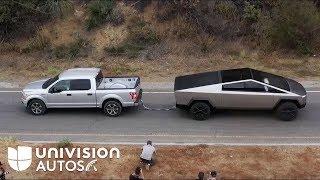 Download ¿Es la Tesla Cybertruck una amenaza para la Ford F-150? | Univision Autos Mp3 and Videos