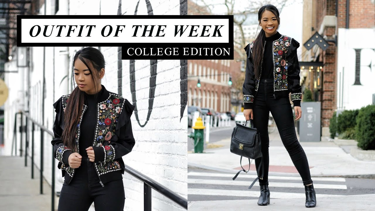 [VIDEO] – COLLEGE OUTFIT OF THE WEEK: WINTER 2017