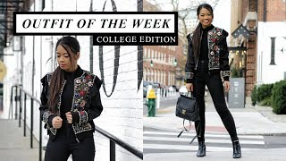 COLLEGE OUTFIT OF THE WEEK: WINTER 2017