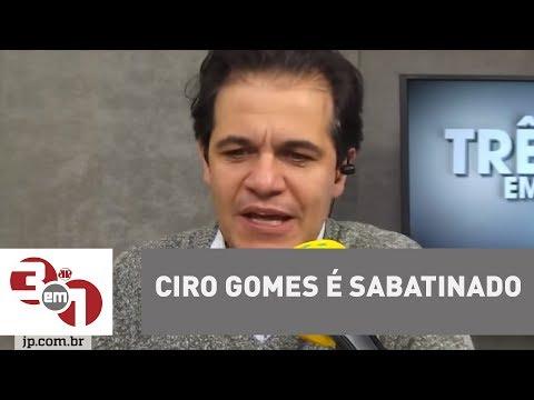 Ciro Gomes é Sabatinado