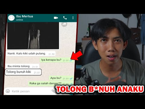 TOLONG B*NUH ANAKU 😱|  CHAT HISTORY HORROR INDONESIA