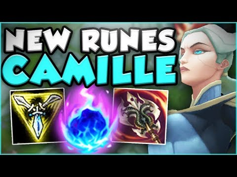 ARCANE COMET CAMILLE! NEW KOREAN SECRET OP?! NEW CAMILLE SEASON 8 TOP GAMEPLAY! - League of Legends