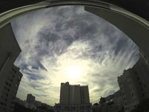Ten hours of weather manipulation over San Francisco, 11-26-13