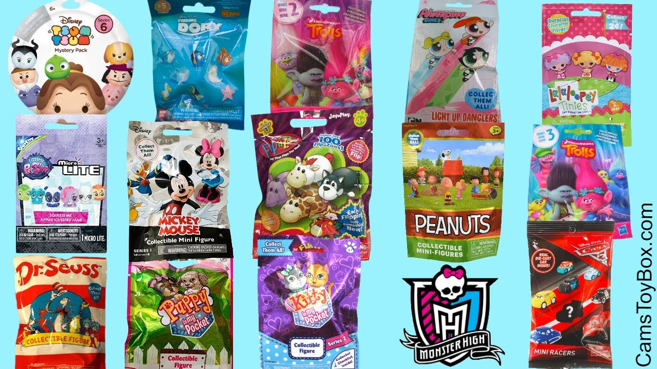 Blind Bags Opening Toys Peanuts Dr Suess RARE Trolls ...