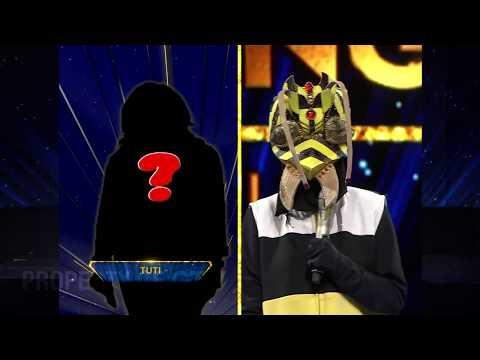 Lagu Justin Bieber  Versi Ulet, Asik Banget Nih!   The Mask Singer Indonesia Eps. 5 (5/6) GTV