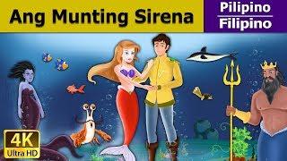 Ang Munting Sirena - kwentong pambata tagalog - Mga Karikatura - 4K UHD - Filipino Fairy Tales