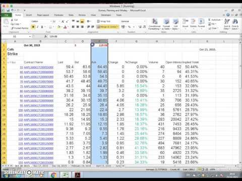 Constructing An Implied Volatility Surface 3