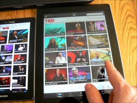 Galaxy Tab 7.7, IPad 3, Acer A500