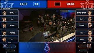 East vs West Ft. Rookie & Caps Highlights | All-Star 2018 Day 3 5v5